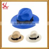 Fashion Japanese Women Panama Straw Hat Cheap Wholesale Paper Straw Hat for Japan Market