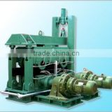 Withdrawal and straightening machine Arc continuous casting machine with multi roller drive and dispersion force
