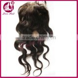 New arrival Whole sale 6A grade lace closure Factory price soft lace 100% virgin human body wave lace closure