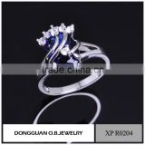 2016 the fashionable african jewelry ring pure 925 silver diamond ring