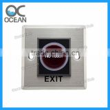 Infrared Sensor Switch No Touch Contactless Door Release Exit Button with LED Indication exit push button