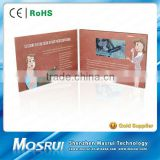 CE/ROHS 2014 Chinese Exports Wholesale Customizd Printing LCD Screen Video Greeting Card /Video Brochure Card