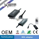 SIPU high quality mhl micro usb cable/mhl micro usb to rca cable