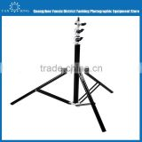 Factory supply studio photo stand multi-function 2.2m photo light stand with air cushion and enlarging diameter