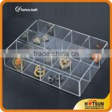 high-quality acrylic divided tray