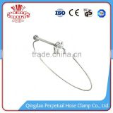 Oem China Manufacturer adjustable hose guy wire clamp