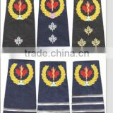 Military Rank Shoulder Emblem Embroidery Patches/Badges
