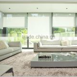 Wholesale blackout sunscreen roller blind fabrics material somfy motorized roller blinds