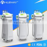 Double Chin Removal Powerful Cooling System Fat Loss Cryolipolysis Rf Ultrasound Cavitation Machine 500W