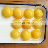 Hot sale canned yellow peach halves in syrup