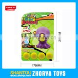 Zhorya New Design Octopus Popper Shoot Toy Kid Outdoor Air Powered EVA Ball Shoot Toys