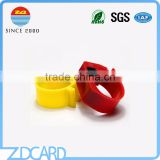 HITAG-S256 Animal RFID Ring Tags For Bird And Pigeon With Factory Price Free Sample