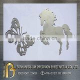 High precison custom 4000w laser cut products / laser cut metal ornaments