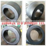China factory supply Hot sales top quality press on tires smooth pattern tire 18x8x12 1/8 for port container trailers