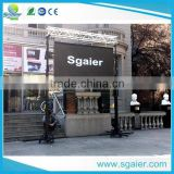 Sgaier 2016 heavy duty 2m~6m line array lifting crank stand tower wholesale