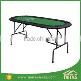 1.85m Folding 8 Players Casino Game Poker Table Top