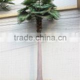 Home garden decoration 100cm to 1000cm Height artificial indoor live plastic ficus red with green date palm tree EZLS05 1004