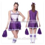 wholesale women colorful cheerleading uniforms