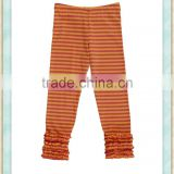 baby yoga trousers with an elasticated waist ruffle trouser legs wholesale little children bouquite pants