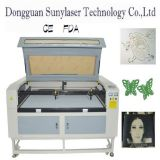 High-Class Leather Laser Cutting Machine with 128M