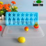 plastic ice tray mould with lid