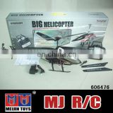 Big helicopter 75cm Matte Black 3.5 CH model king helicopter
