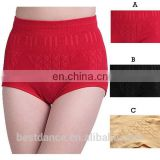 Bestdance high waist pants cotton briefs lingerie Briefs G-Panty High Waist Girdle Body Shaper Underwear For Lady