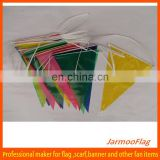 advertising colorful plastic flags print string