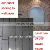 fast assembled soundproof interior wall panels freely sticking to wall paper