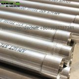 Authentic Stainless Steel ERW Welded Blind Casing Tube Plein