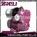 High Quality 0.5HP AC Mini Electric Self-priming Pump with Base Brass Impeller low noise high pressure home use hot water