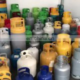 30LB Empty Cooking LPG cylinder gas bottle plant for propane