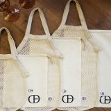6 piece Set of Reusable Eco-Friendly 100% Cotton Muslin and Mesh bags includes M, L, XL