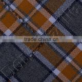 COTTON MELANGE YARN DYED FLANNEL