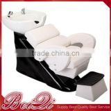 Guangzhou Wolesaler Beauty Salon Furniture ,Elegant Backwash Shampoo Chair Professional Hair Salon Wash basins