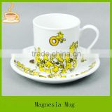 ceramic mug custom with customized design,custom ceramic coffee mug with saucer, custom ceramic soup mugs T/T
