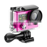 H8 4K WiFi Action Camera Waterproof 2 inch TFT LCD Screen DV Helmet Camcorder Sport Video dual screen action camera