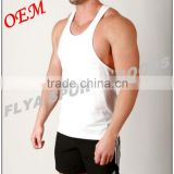 2016 hot selling custom gym vest for men made in China tank top bodybuilding stringer                                                                         Quality Choice