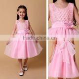 Exotic Kids Clothing Wholesale 2015 Summer Vintage Lace Dress for Sale