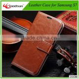 High quality leather case for Samsung Galaxy S7 PU leather case, for Samsung S7 Edge case