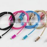 Gold supplier Practical & portable colorful Original USB Date Charging cable mobile phone usb data cable
