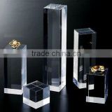 Clear Acrylic Ring Jewelry Bracelet Necklace Display Stand Holder