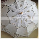 2015 Victorian lace design and cotton cloth parasol for sale