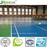 China supplier of international standard badminton flooring sport surface synthetic court flooring