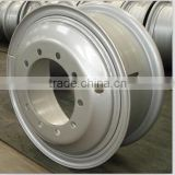 aluminium alloy wheel rims and steel wheel rims 8.5-24 for 12.00r24 or 12.00-24 truck tyres