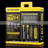 USA Bulk buy Original NiteCore d4 Intellicharger I2/I4/D4 Battery Charger For Li-ion /Ni-MH Batteries