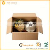 YIF high quality corrugated custom printed cardboard shipping box,100% recycle                                                                                                         Supplier's Choice