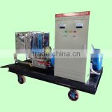 industrial high pressure cleaning washer machine marine surface rust removal electric drive cleaning machine