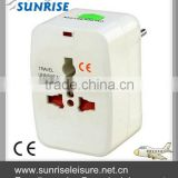 36185# All-in-One Travel Power Plug Adapter for US, UK, EU, AU                                                                         Quality Choice