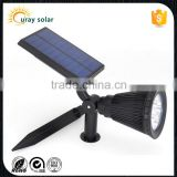 180 angle adjustable 200 lumen outdoor high power led solar spot light                                                                         Quality Choice